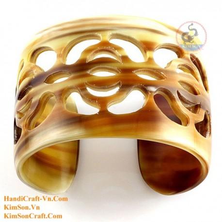 Natural horn bracelet - Model 0143