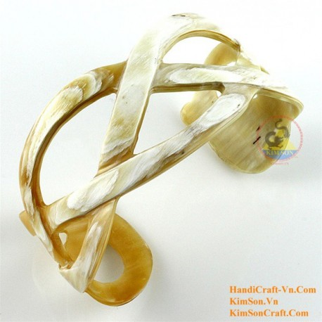 Natural horn bracelet - Model 0144