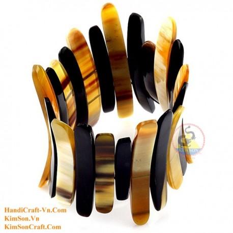 Natural horn bracelet - Model 0150