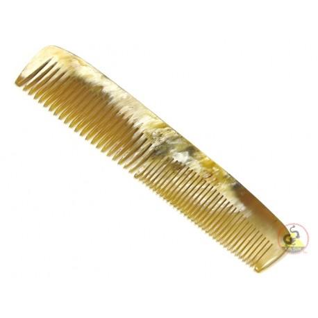 純正ホーン櫛 - 八重歯 - 168 x 35 mm (6.61 × 1.37 インチ)