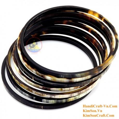Природный рог браслет набор 7 - Модель 0153
