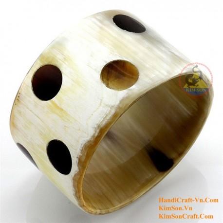 Natural horn bracelet - Model 0154