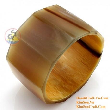 Природный рог браслет - Модель 0156