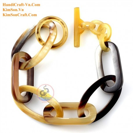 Natural horn bracelet - Model 0161