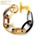 Природный рог браслет - Модель 0161