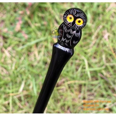 Owl Organic Horn Hair Stick