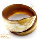 Natural horn bracelet - Model 0163