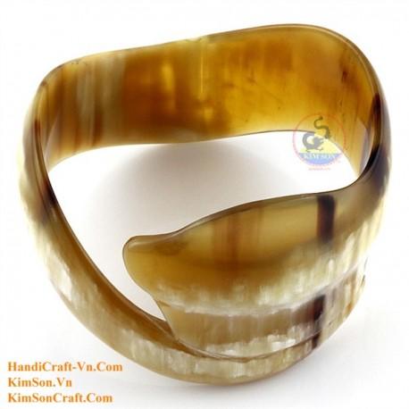 Natural horn bracelet - Model 0170