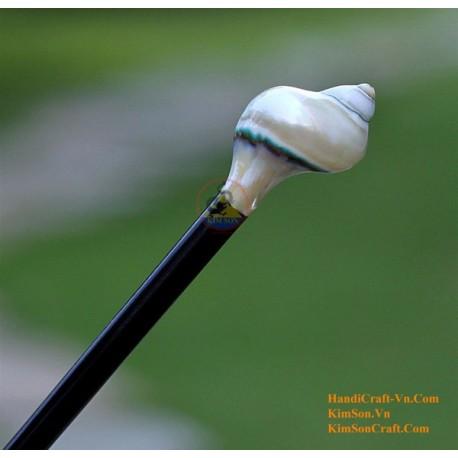 Shell Organic Horn Hair Stick