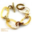 Natural horn bracelet - Model 0173