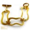 Natural horn bracelet - Model 0174