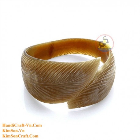 Natural horn bracelet - Model 0175