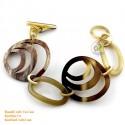 Natural horn bracelet - Model 0178