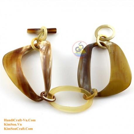 Природный рог браслет - Модель 0179