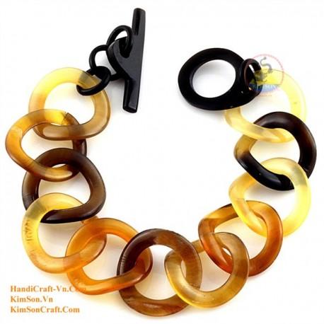 Природный рог браслет - Модель 0181