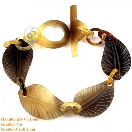 Природный рог браслет - Модель 0183