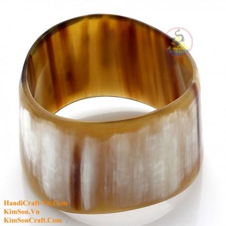 Природный рог браслет - Модель 0184