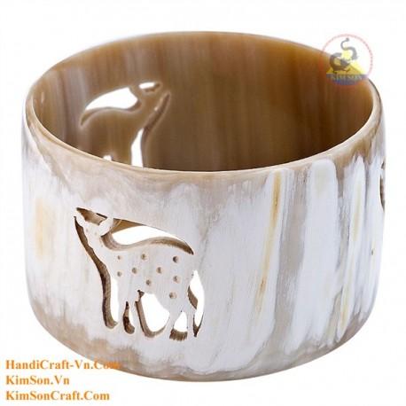 Natural horn bracelet - Model 0185