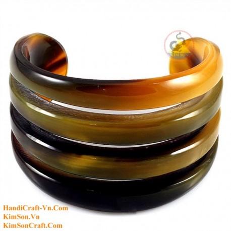 Natural horn bracelet - Model 0189