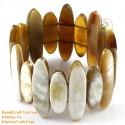 Природный рог браслет - Модель 0193