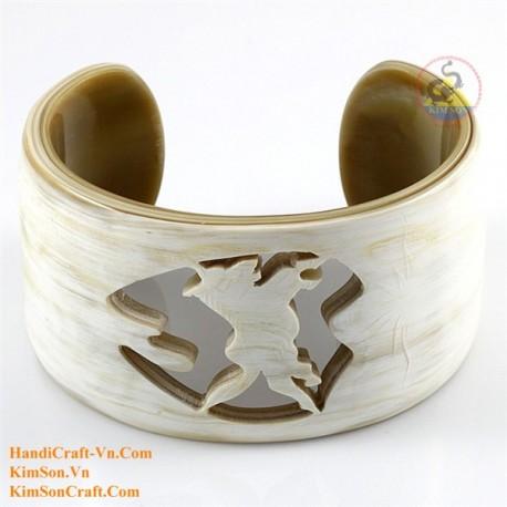 Natural horn bracelet - Model 0194