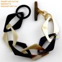 Природный рог браслет - Модель 0196