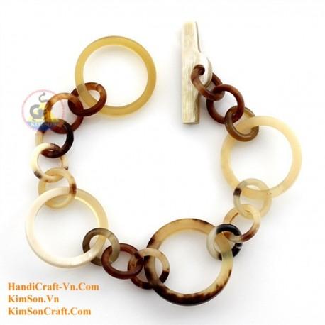Natural horn bracelet - Model 0198