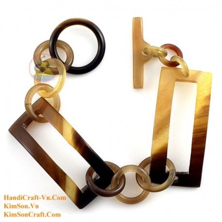Natural horn bracelet - Model 0200