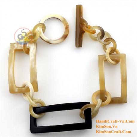 Natural horn bracelet - Model 0199