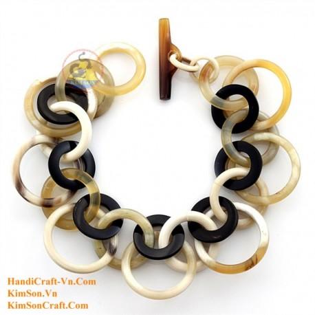 Natural horn bracelet - Model 0204