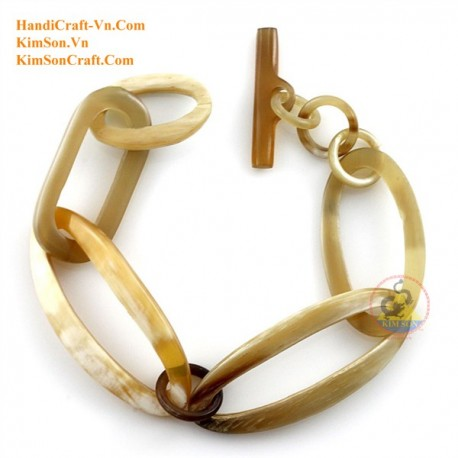 Natural horn bracelet - Model 0205