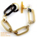 Natural horn bracelet - Model 0206