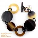 Природный рог браслет - Модель 0207
