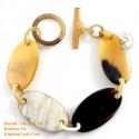 Natural horn bracelet - Model 0212