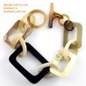 Природный рог браслет - Модель 0213