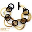 Natural horn bracelet - Model 0215
