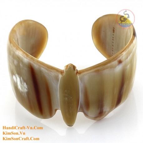 Природный рог браслет - Модель 0216