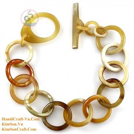 Природный рог браслет - Модель 0220