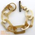 Природный рог браслет - Модель 0221