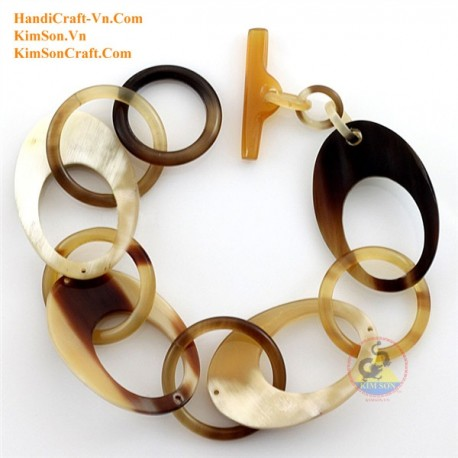 Natural horn bracelet - Model 0222
