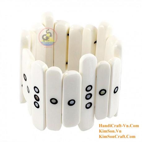 Природные кости браслет - Модель 0223