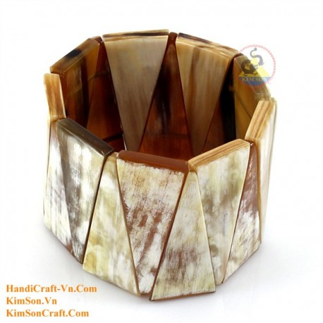 Natural horn bracelet - Model 0225