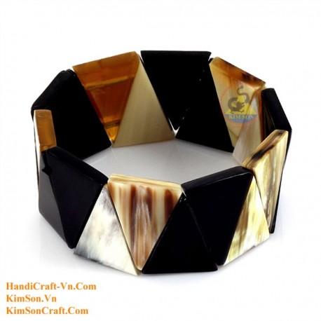 Natural horn bracelet - Model 0226
