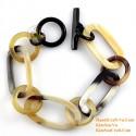 Natural horn bracelet - Model 0228