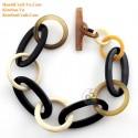 Природный рог браслет - Модель 0229