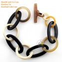 Natural horn bracelet - Model 0229