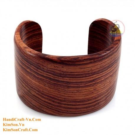 Натуральное дерево браслет - Модель 0235
