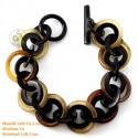 Natural horn bracelet - Model 0237