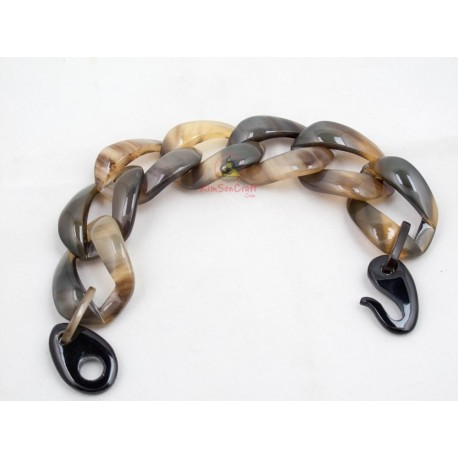 Natural horn bracelet - Model 0239