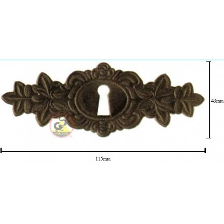 Escutcheon From Leather